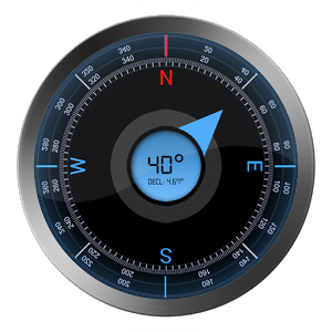 how does a GPS compass work
