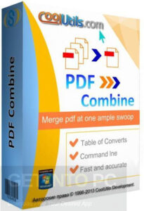 PDF Combiner Merger files with adobe reader