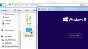 install windows 8.1 from usb step by step