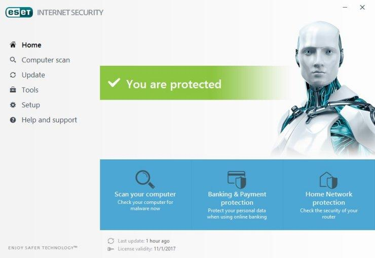 ESET NOD32 Internet Security 12 Activated Full Version Free Download