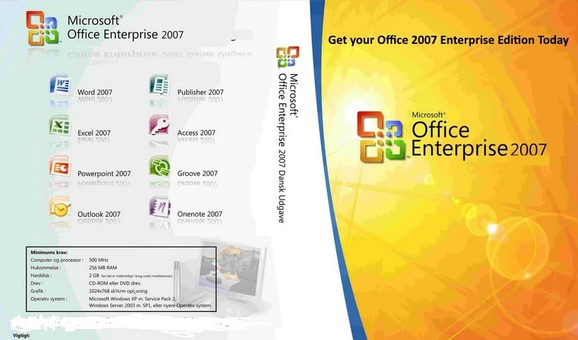 MS Office Enterprise Edition With keys Free Download