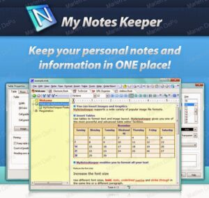 My notes keeper for android