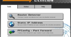 Portforward network utilities registration code