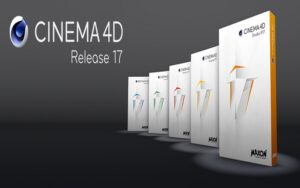 Cinema 4D AIO R17 DVD ISO Free Download,