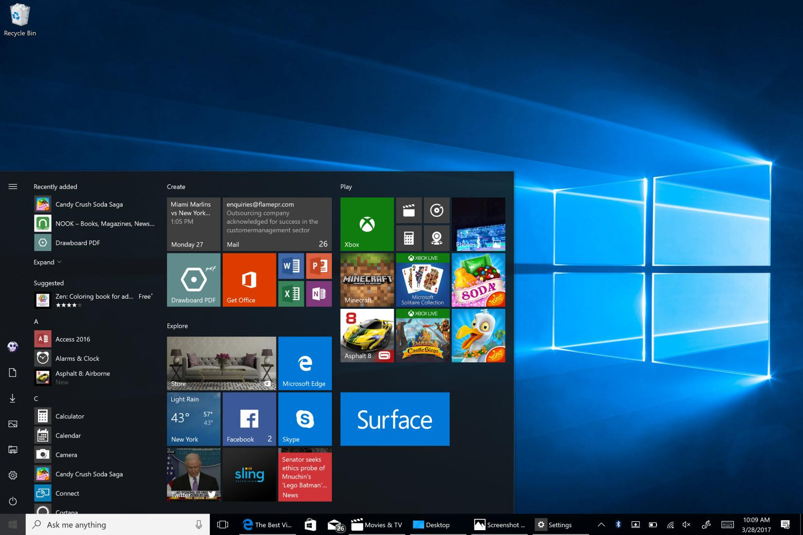 Windows 10 Pro Redstone 4 Bootable ISO Free Download