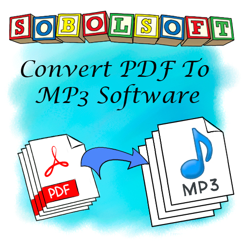 PDF To MP3 Converter Software v7