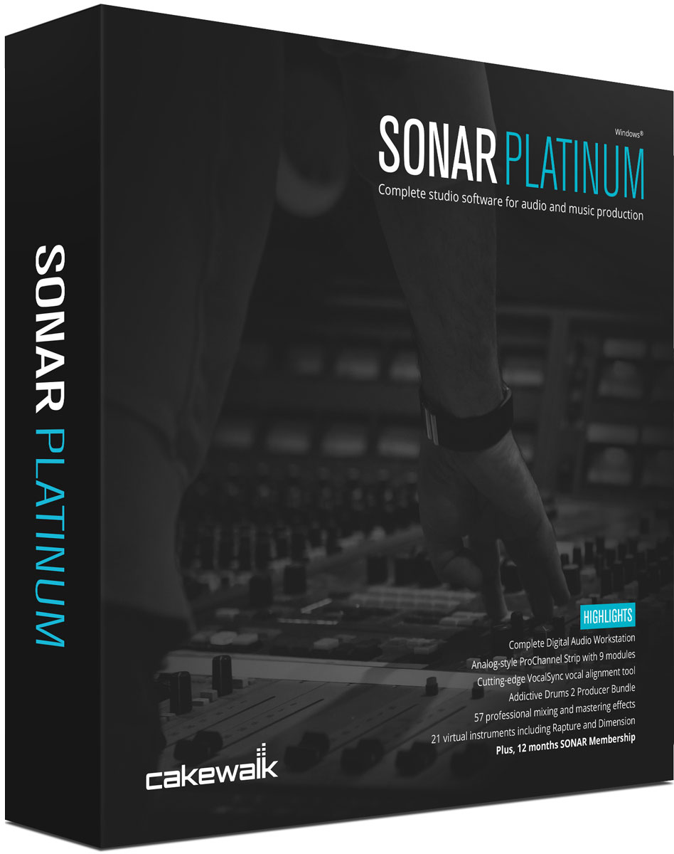 Sonar Platinum box 1