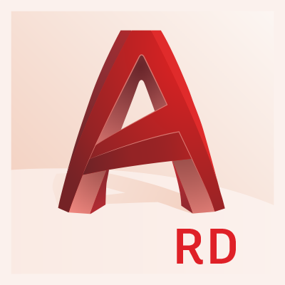 autocad raster design badge 400px social