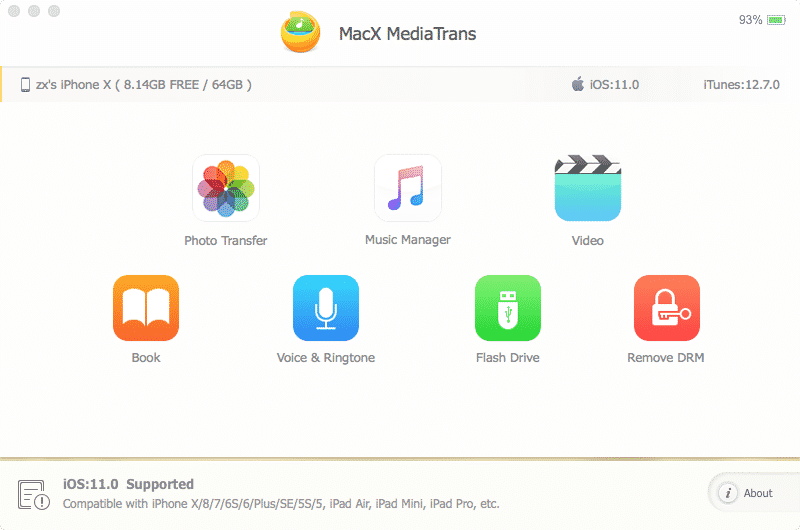 MacX-MediaTrans-iPhone-is-Connected