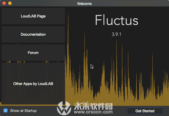 Fluctus Audio Editor For MAC