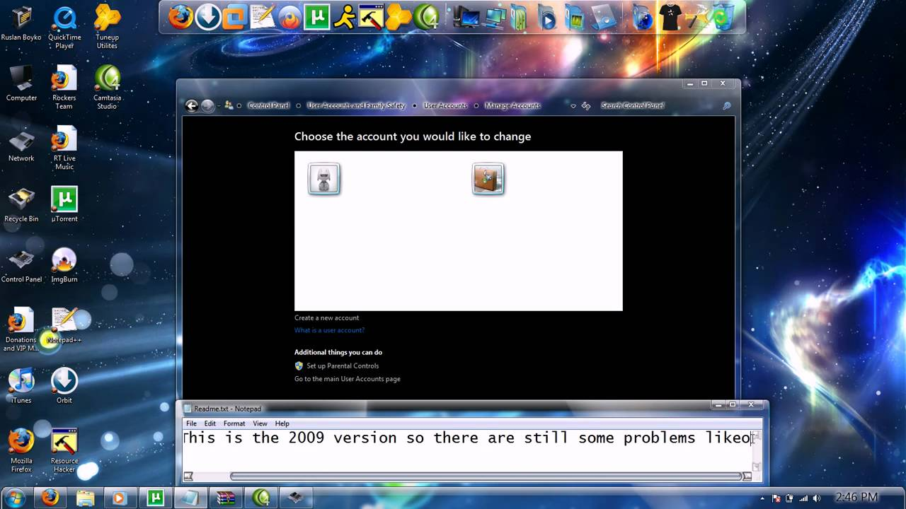 Windows 7 Eternity Full Free Download iso file